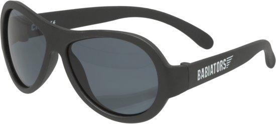 Babiators UV zonnebril Peuter Aviators - Black Ops Zwart - Maat 3-5 jaar