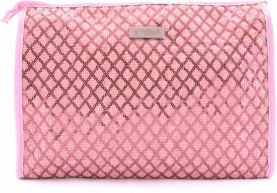 6bc0a2e8a49 bol.com | Gérard Brinard toilettas ruiten tas roze - glitter