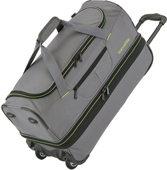 a0197a9608 Travelite Basics 2Wh duffle L grey
