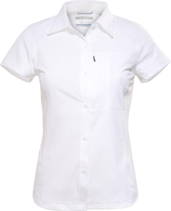 Columbia Silver M Mouwen Korte Ridge Blouse Wit Dames Short Maat Shirt Sleeve rrdawv