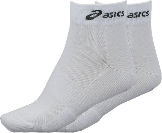 Asics Hardloop Quarter Sokken (2-pack) - 43-46 - Wit