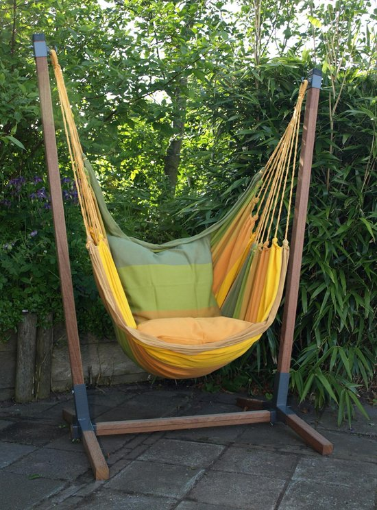 Hangstoel Incl Standaard.Hangstoel Set Andes Xl Incl 2 Kussens
