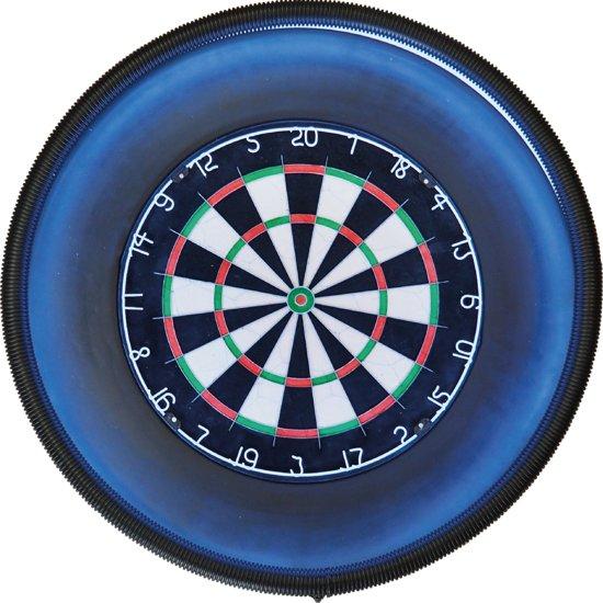 Supercombi - A-merk Plain Bristle (BEST geteste) - dartbord - inclusief LED verlichting en - dartbord surround ring - zwart