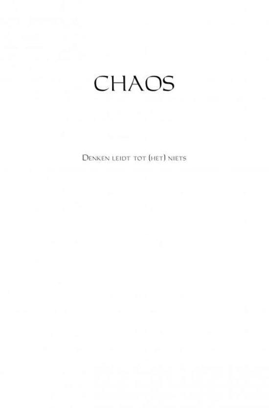 Chaos Boek Denken Leidt Tot Het Niets Epub Mealsnissabow