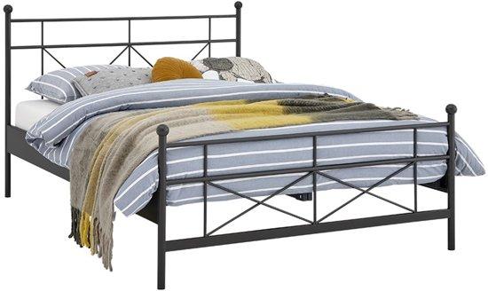 Bol.com beter bed basic bed milano met lattenbodems en emma matras