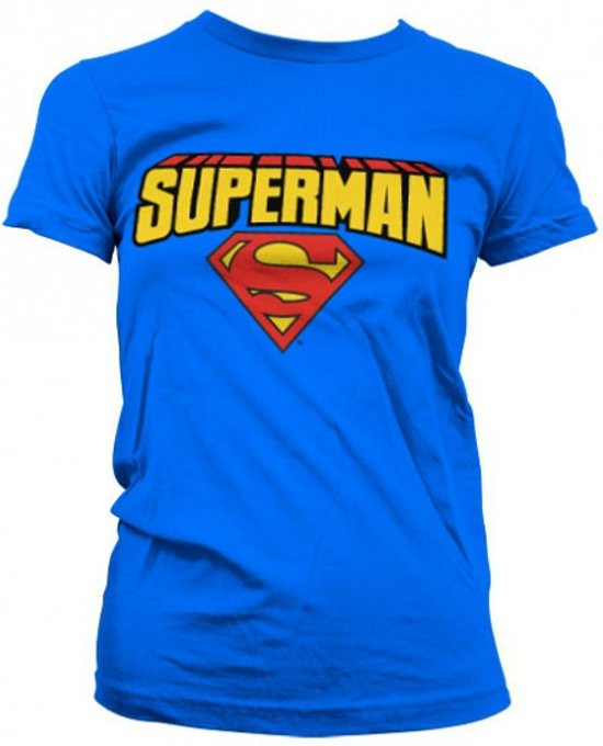 Superman T-shirt dames Xl
