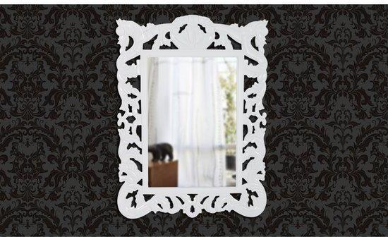 Barok Spiegel Wit : Bol.com vidaxl spiegel spiegel barok vierkant wit
