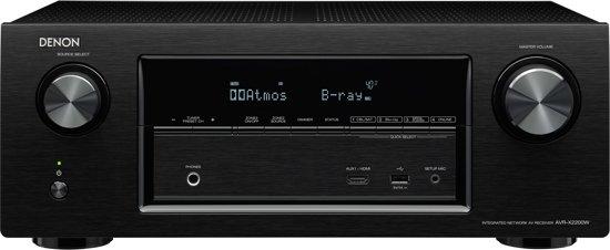 Denon AVR-X2200W - 7.2 kanaals Ultra-HD AV-receiver - Zwart