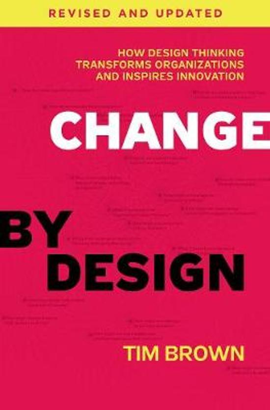Boek cover Change by Design, Revised and Updated van Tim Brown (Hardcover)