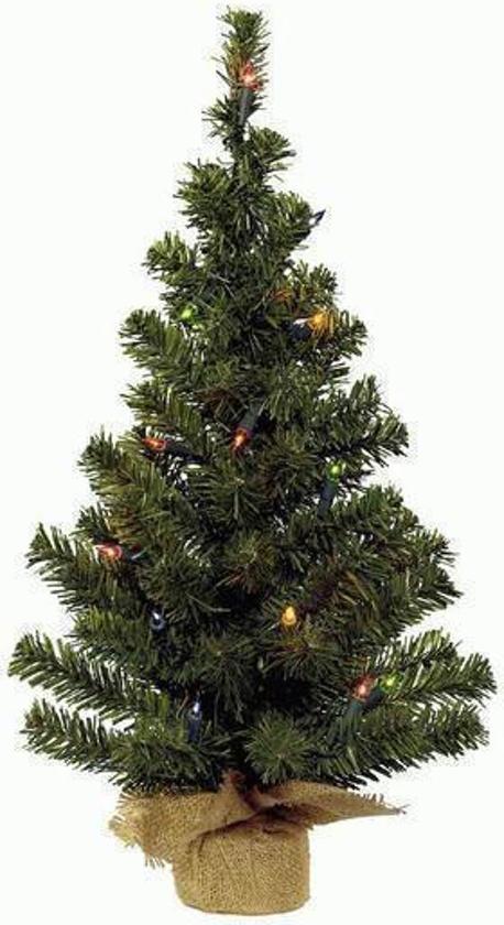 kerstboom 60 cm inclverlichting