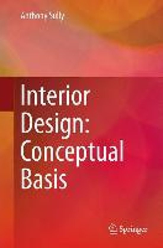 Boek cover Interior Design van Anthony Sully (Hardcover)