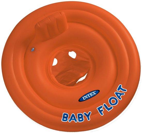 Intex Baby Float - tot 15 kg - rood/oranje