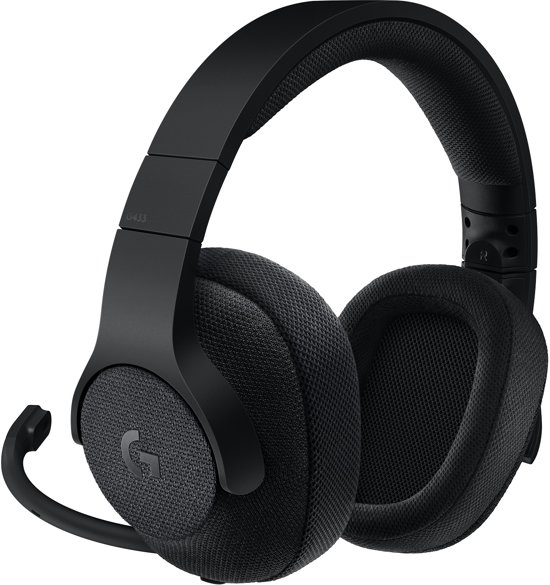 Logitech G433 - 7.1 Virtueel Surround Gaming Headset - Zwart - Pc + PS4 + Xbox One + Nintendo Switch
