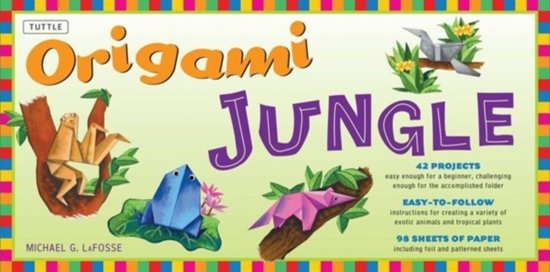 Origami Jungle [With Book 1 and Book 2 and 98 Sheets of Paper]