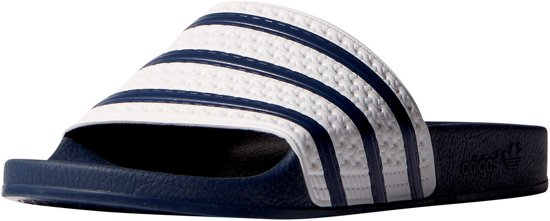 Adidas Heren Men Slippers Adilette Maat Blauw 43 RRrqWdH6x