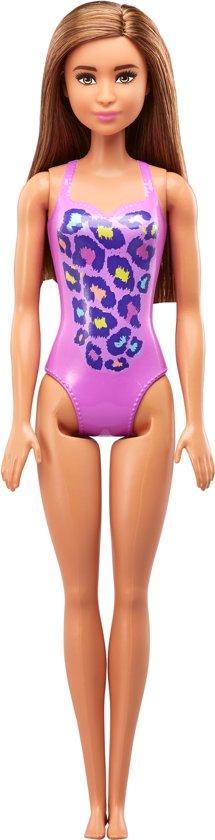 Barbie Strandpop Met Badpak - Barbiepop