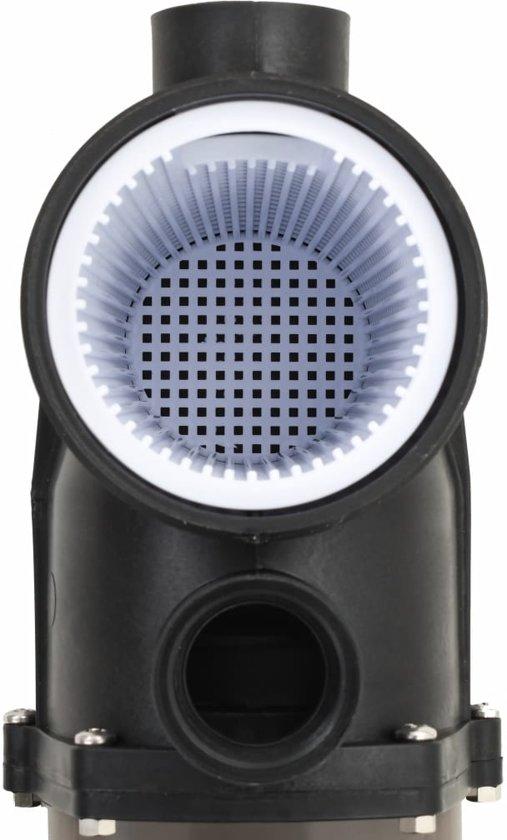 vidaXL Zwembadpomp 0,25 PK 8000 L/u zwart
