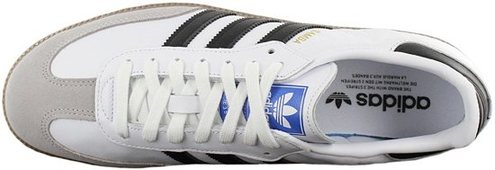 Sneakers core Og 38 Maat White Heren Samba Ftwr Adidas Granite clear Black qpFaO