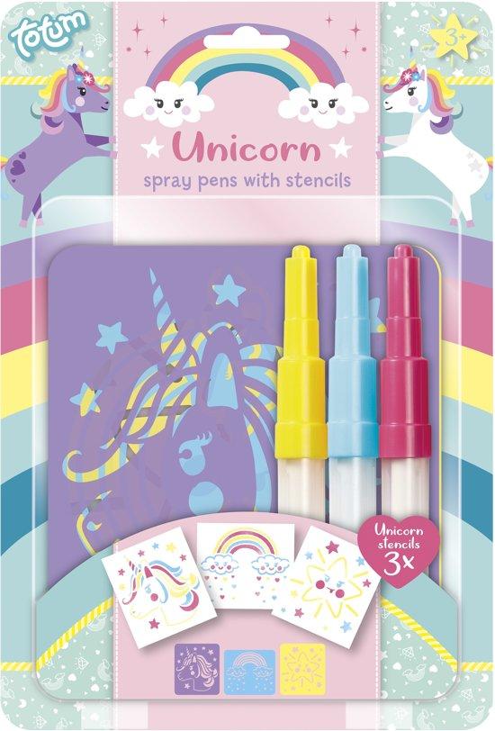 Afbeelding van Unicorn spraypens - blaaspennen speelgoed