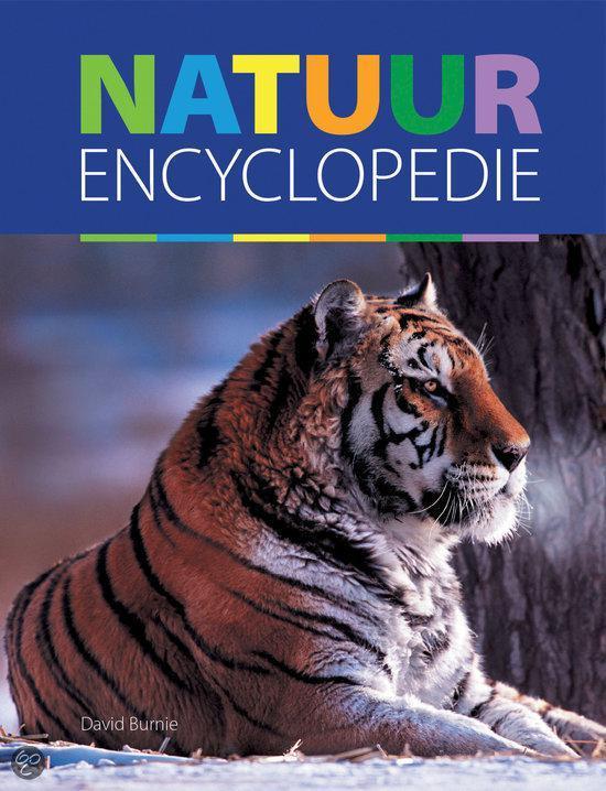Boek cover Natuur Encyclopedie van David Burnie (Hardcover)