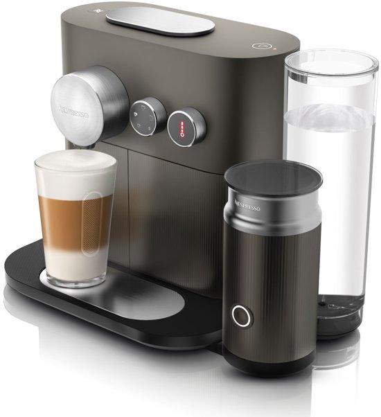 Nespresso De'Longhi Expert & Milk EN 355 GAE - Koffiecupmachine - Antraciet