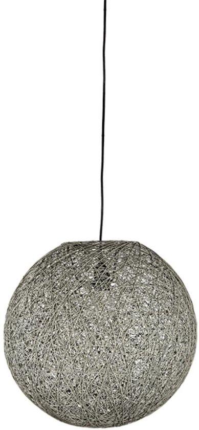 Bekend bol.com | LABEL51 - Hanglamp Twist Grijs 30x30x30 cm | M &UZ58