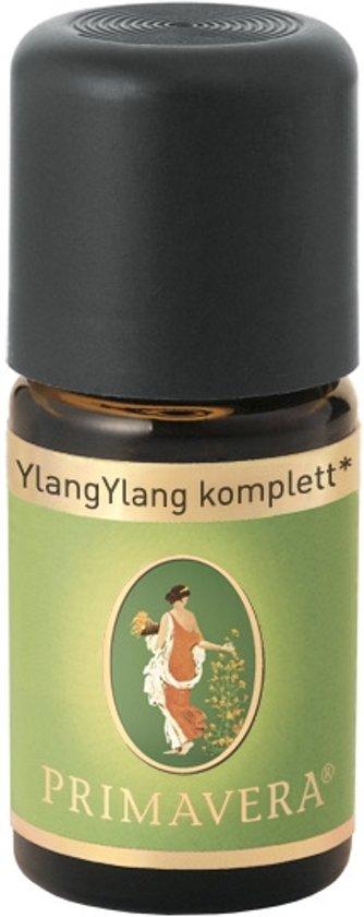 Etherische olie Bio Ylang-Ylang compleet Etherische olie Primavera