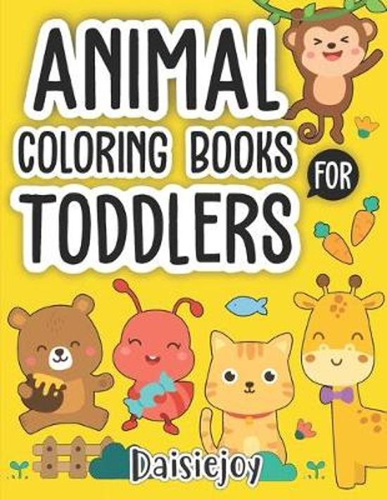 Coloring Books for Toddlers: and kids - Animal Coloring Book (US VERSION)