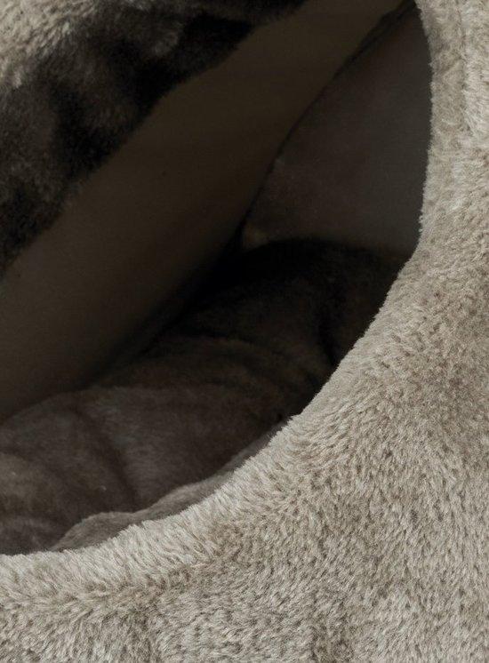 Trixie Relax Iglo Lilo Kattenmand - Pluche - Grijs - 35 x 26 x 41 cm