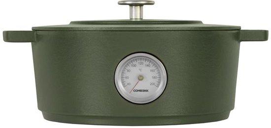 Combekk Braadpan met Thermometer à 28 cm