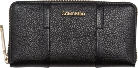 Dames Portemonnee Klein.Bol Com Calvin Klein City Leather Large Zip A Dames