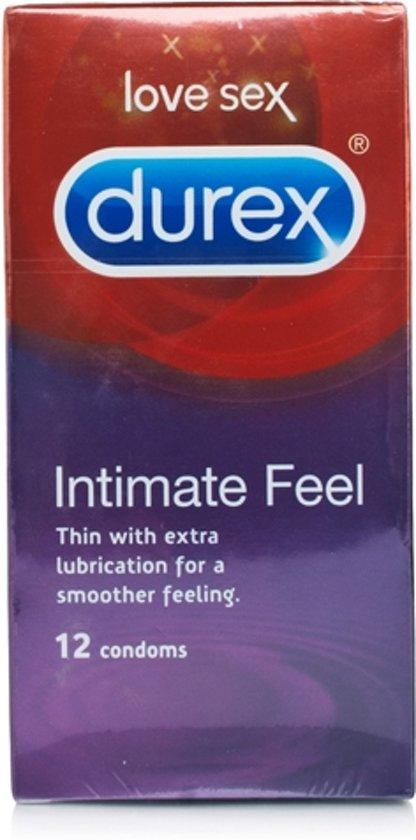 Durex Intimate Feel condooms 12 condooms