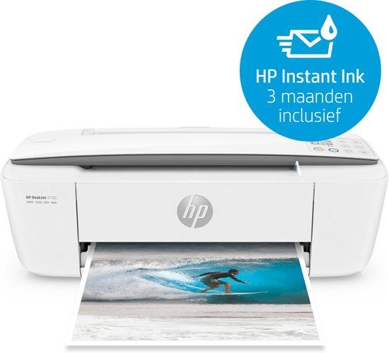 HP DeskJet 3720 - All-in-One Printer - Wit