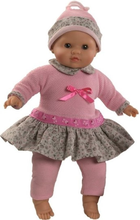 Paola Reina pop Manu Amy (winter), gekleed 36cm babypop