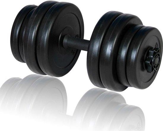 vidaXL - Halterset - Met Rubberen Handgreep - 15 kg