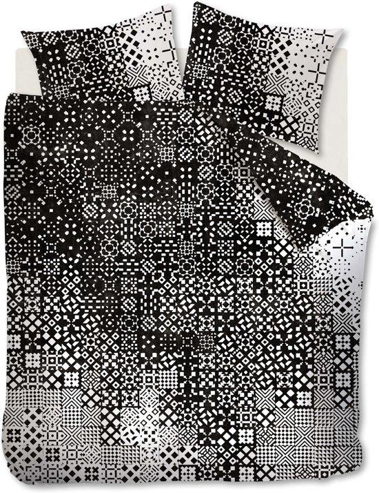 Beddinghouse Tippy - Dekbedovertrek - Lits-jumeaux - 240x200/220 cm - Zwart