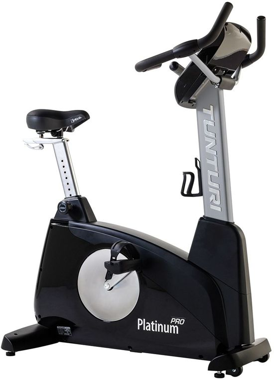 Tunturi Platinum Upright Bike Pro - Hometrainer