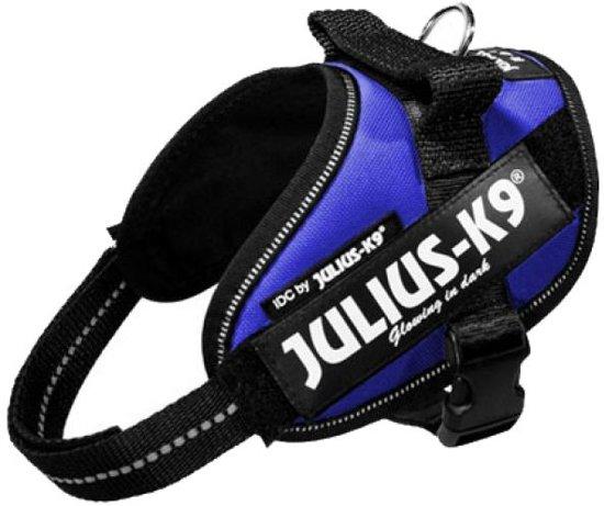 Julius K9 Power-Harnas/Tuig Voor Labels Blauw mini mini/40-53 cm