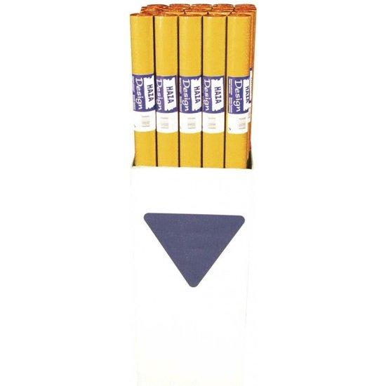 Haza Tafelzeil - Rol - Oranje - Papier - 800 x 118 cm - 2 stuks