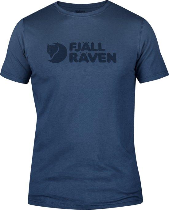 Heren Uncle Fjällräven Shirt Blue T Logo M w4qI0Sq