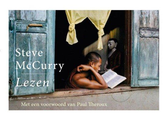 Boek cover Lezen van Steve McCurry (Paperback)