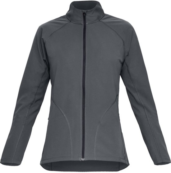 Under Armour Storm Launch Graphic Jacket Sportjas Dames - Pitch Gray - Maat XL