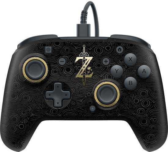 PDP Nintendo Switch Faceoff Deluxe Pro Controller - Breath Of The Wild Edition
