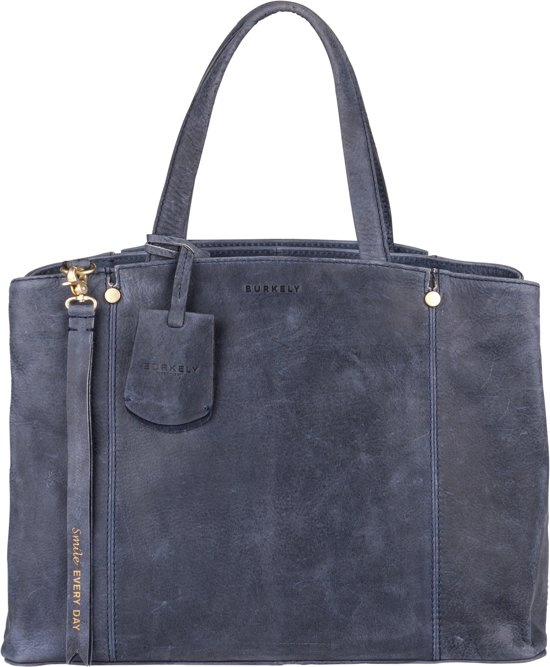 BURKELY Magic Milou Handbag M - Handtas - Denim Blauw