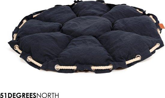 51DN - Nautical - Kokolounger - Dark Blue - Ø40x35cm