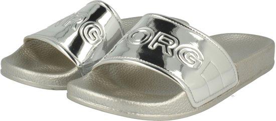 laatste stijl hete verkoop online wereldwijd verkocht Bjorn Borg Dames Slippers Harper Ii Metallic - Zilver - Maat 38