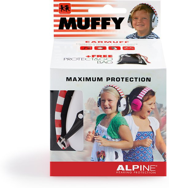 Alpine Muffy Oorkap Wit