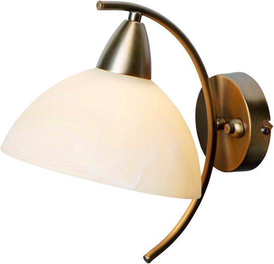Steinhauer Burgundy - Wandlamp - 1 lichts - Brons