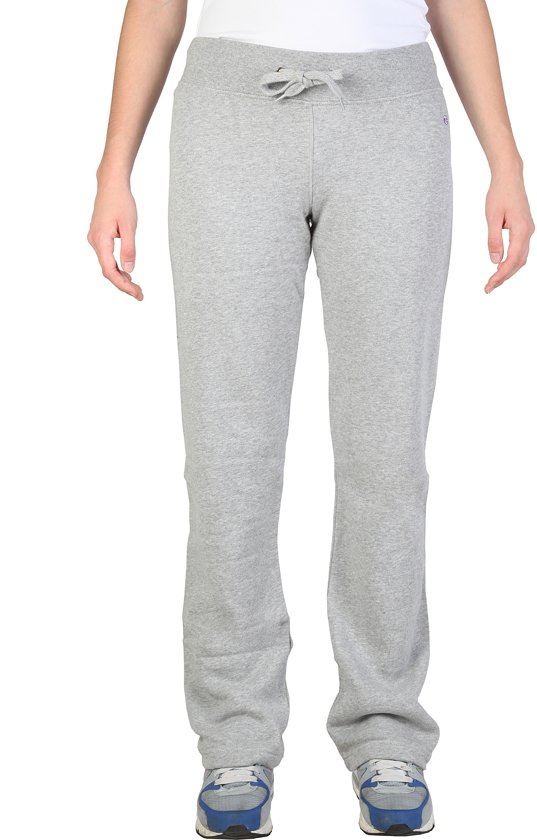 Merk Joggingbroek Dames.Bol Com Champion Joggingbroek Dames Grijs Maat Xl