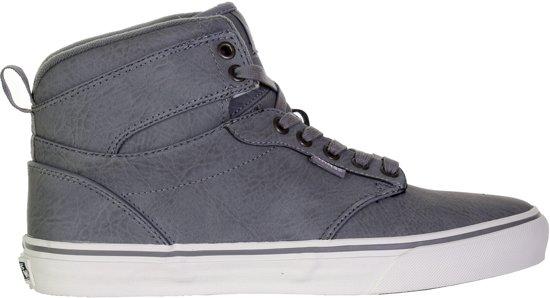 fb5e78aee59 Vans Atwood Hi Sneakers Heren Sportschoenen - Maat 42.5 - Mannen - grijs